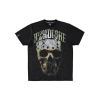 100% Harcore T-Shirt Hockey Skull Gold All Over €24.95