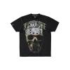 100% Harcore T-Shirt Hockey Skull Gold All Over €24.95