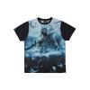 100% Hardcore Allover Shirt Warrior Blue €29.95