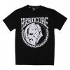 100% Hardcore Shirt Hockey Mask Black €24,95