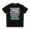100% Hardcore Shirt Drugs Black/Green €24.95