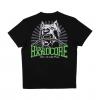 100% Hardcore Shirt Dog1 Black/Green €24.95