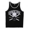 100% Hardcore Singlet Pirate Mask Black/White €24,95