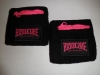 100% Hardcore Wristbands Black/Pink 2-Pack €12,50