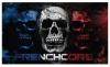 Frenchcore Banner triple Skull €19,95