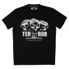 Terror Shirt Atomic Skulls Black/White €24,95